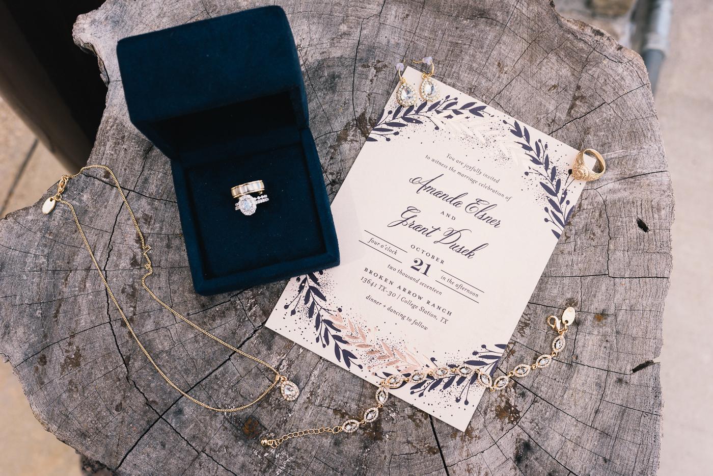 Wedding Invitation Wedding ring  Wedding invitation  Wedding jewelry