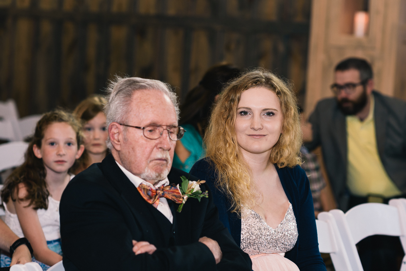 grandpa cousin wedding boutonniere