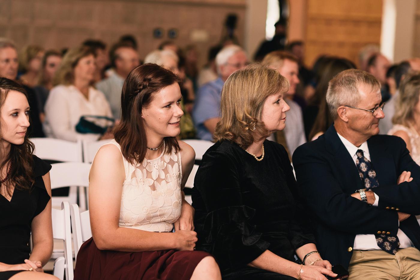 wedding ceremony family