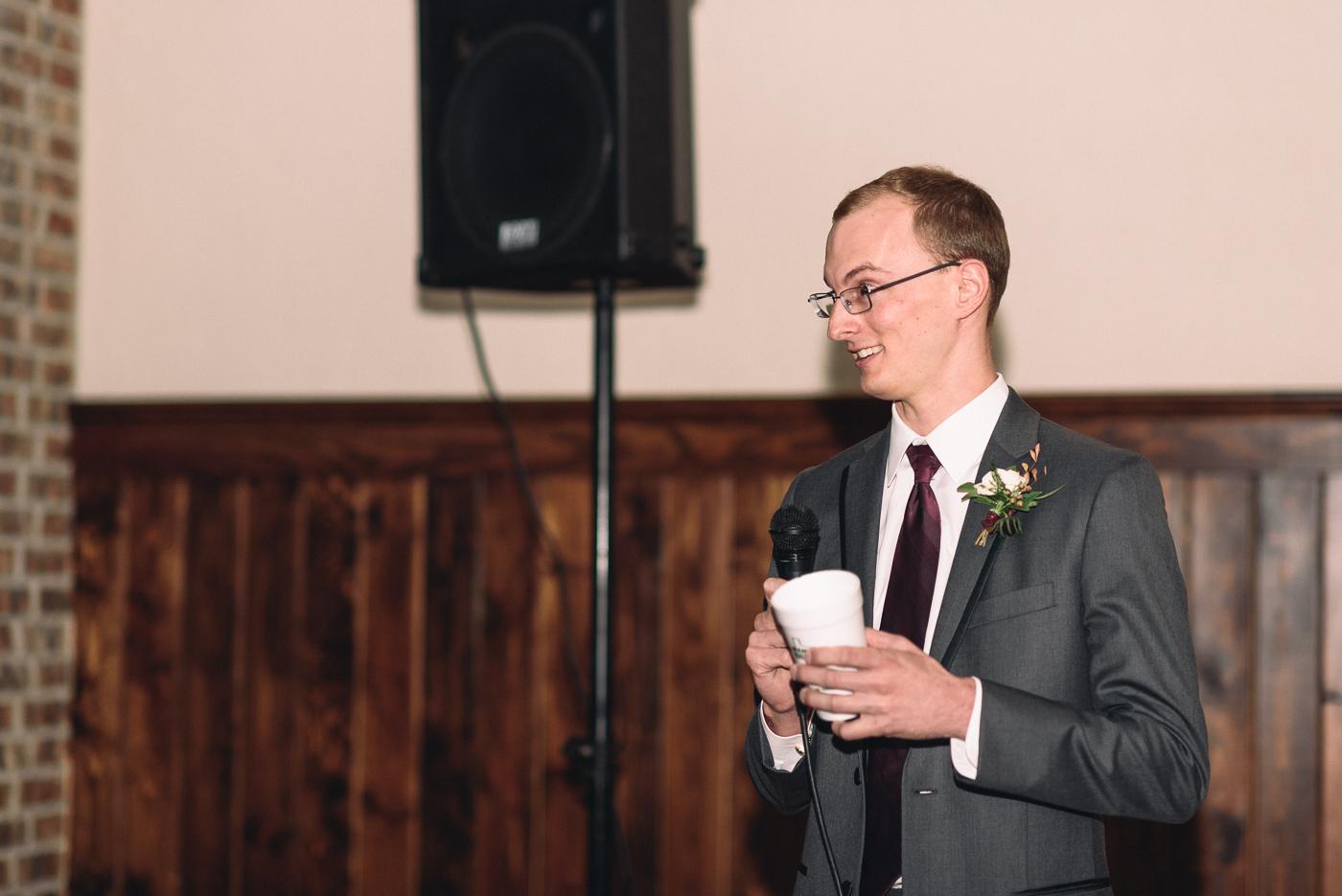 best man speech wedding reception cousin