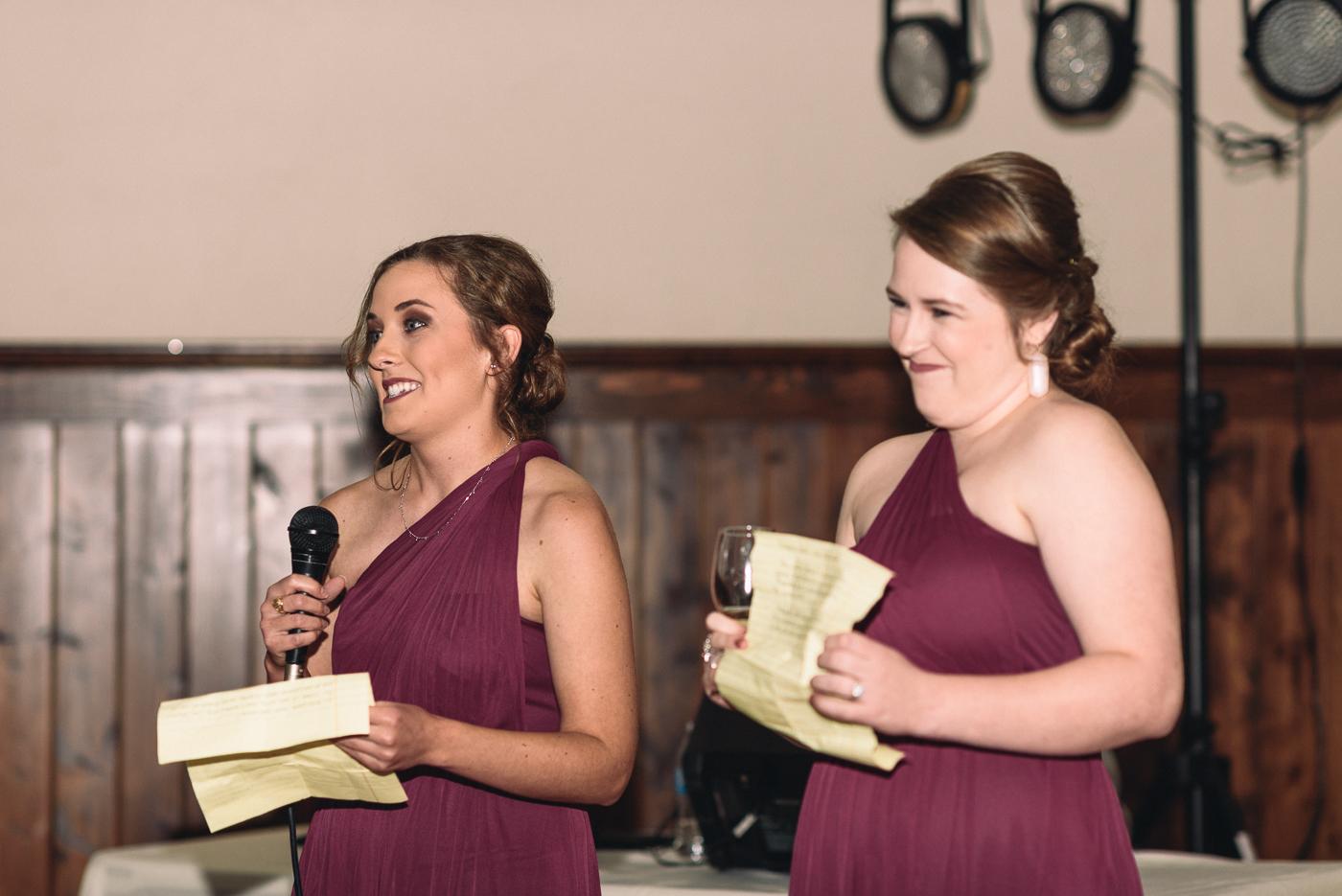 brides maid's speech maid of honor matron of honor