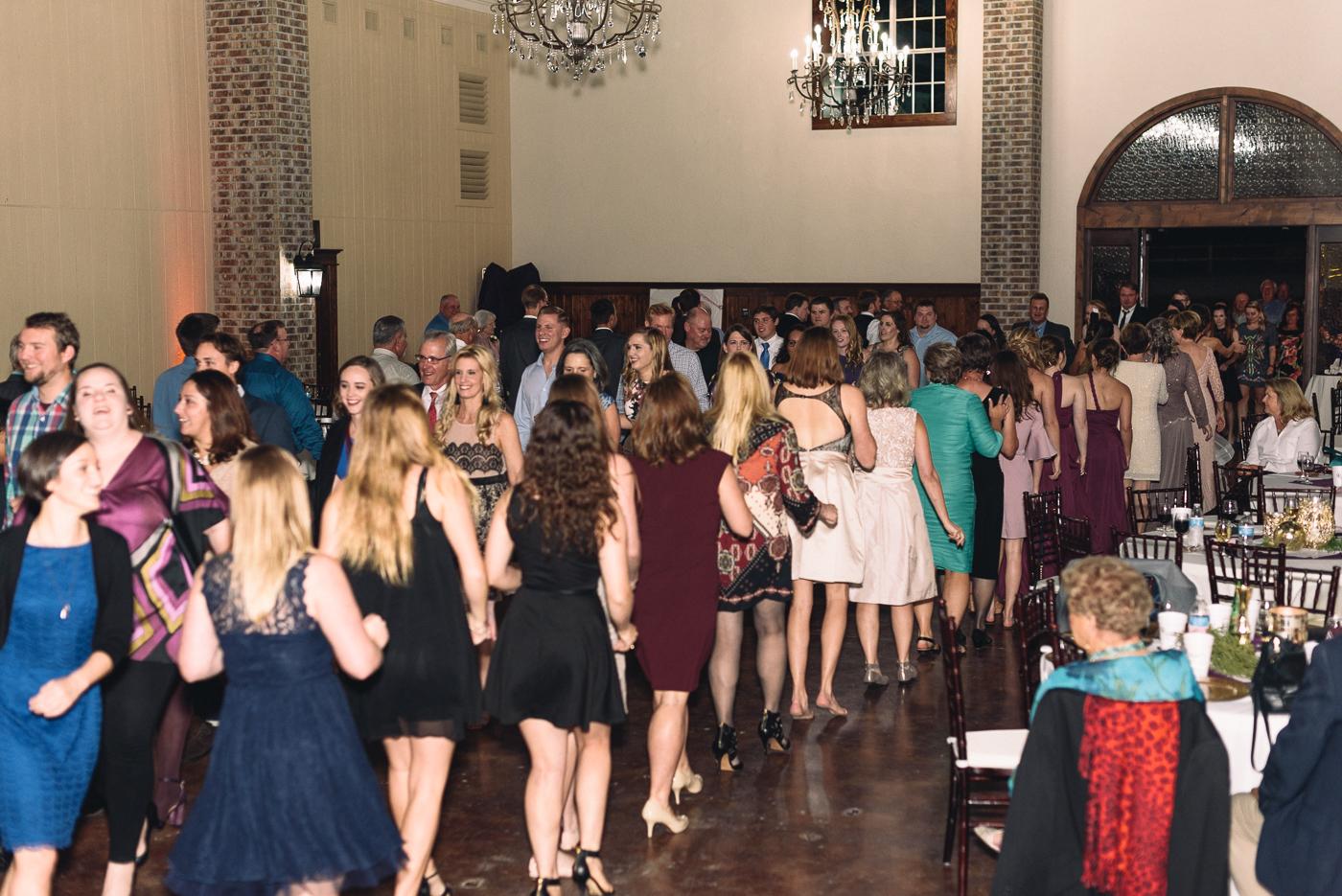grand march czech wedding reception