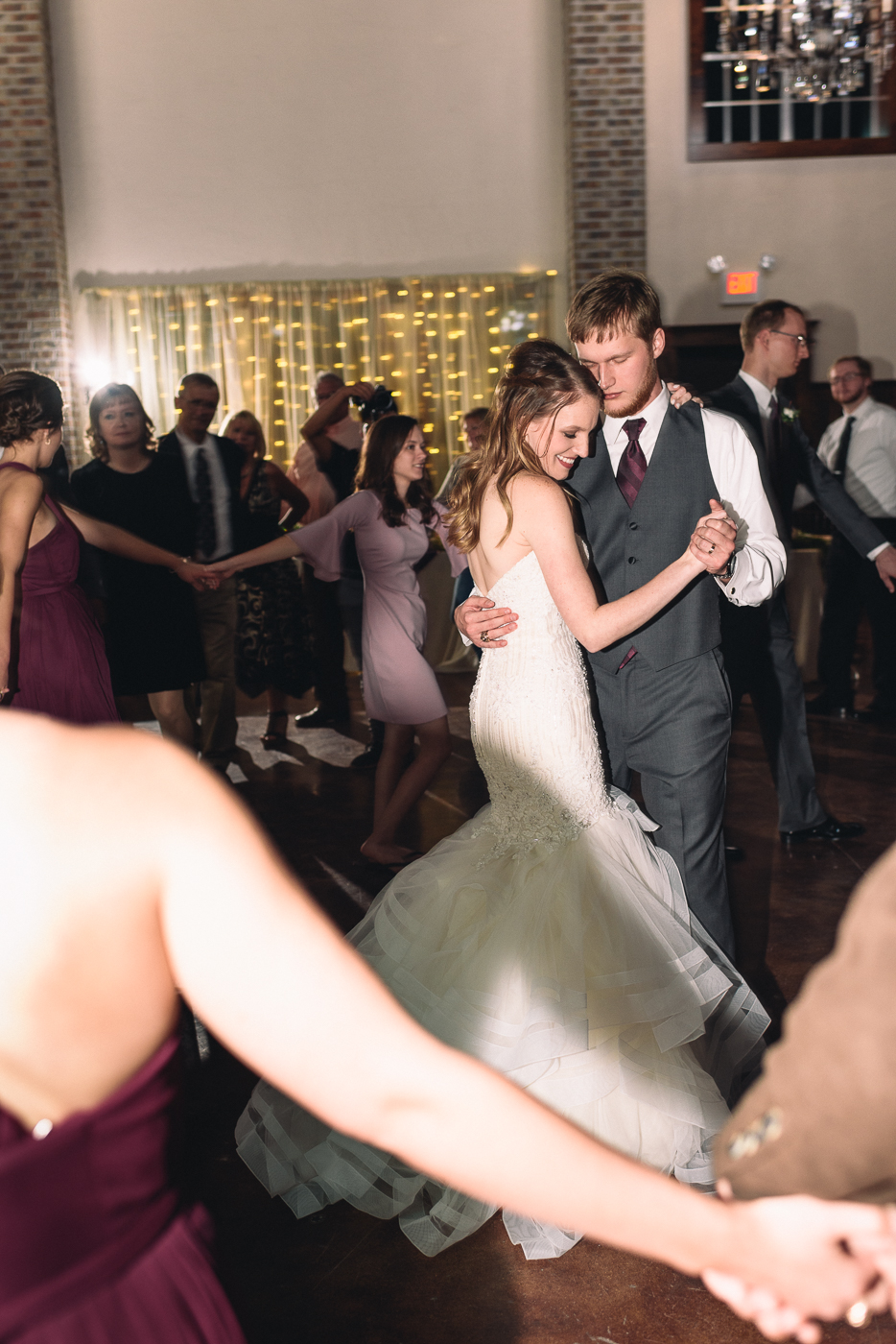 first dance bride and groom husband and wife mr. and mrs. Houston photography