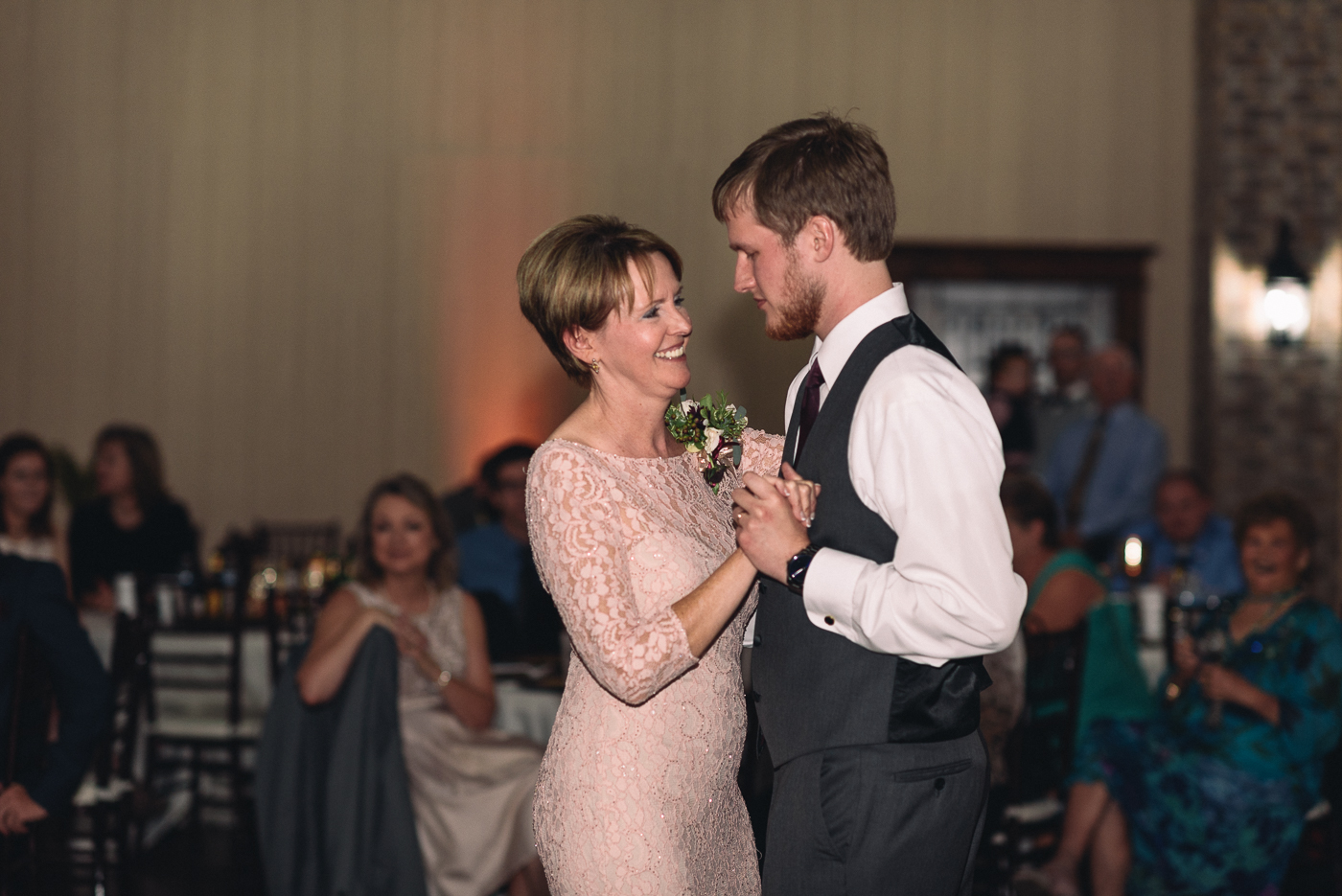 mother son dance wedding reception