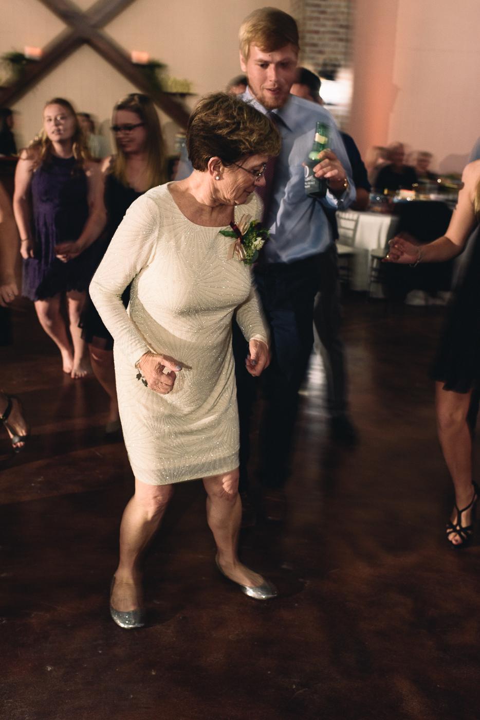 mother of the groom wedding reception dancing
