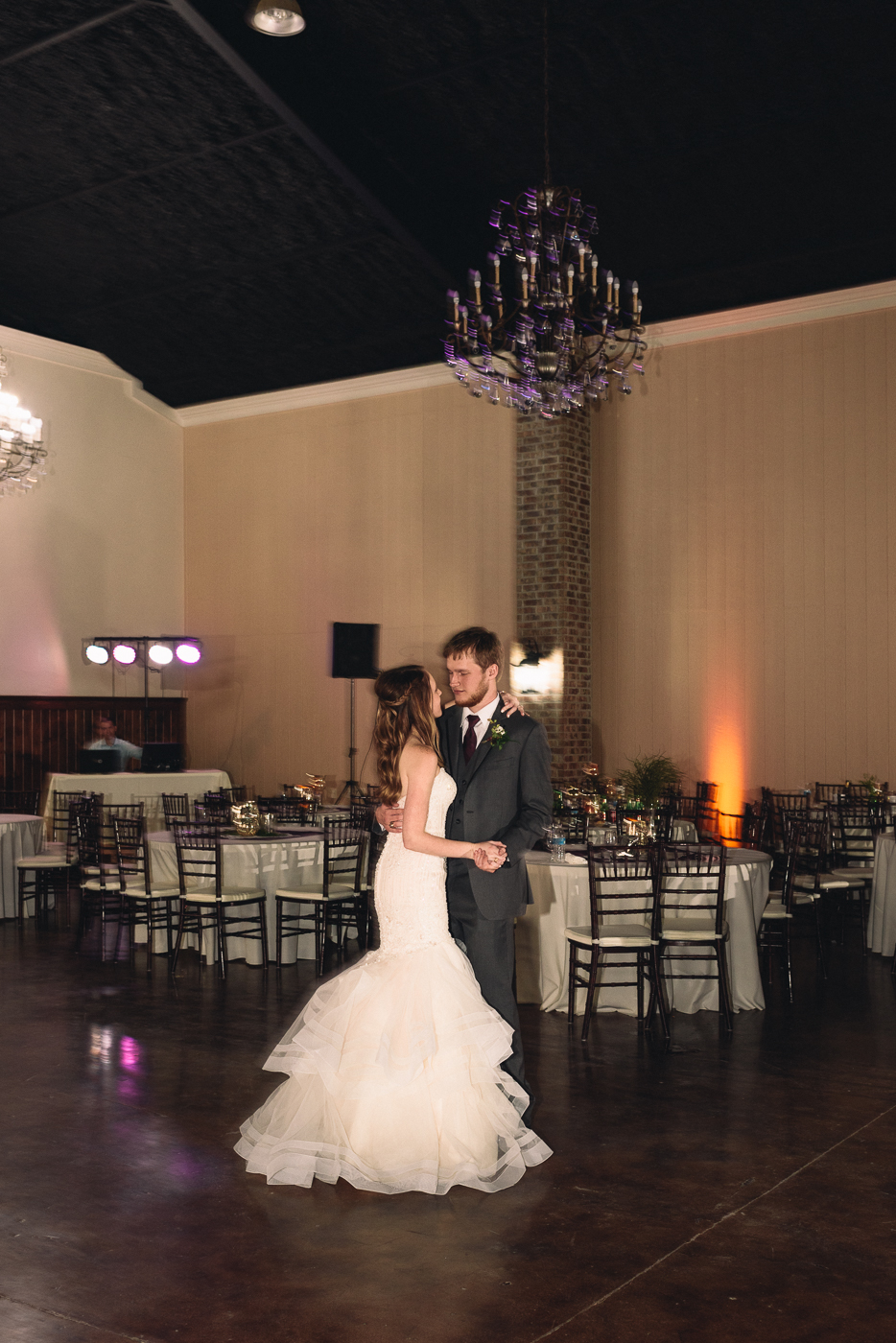 happily ever after slow dance husband and wife mermaid gown