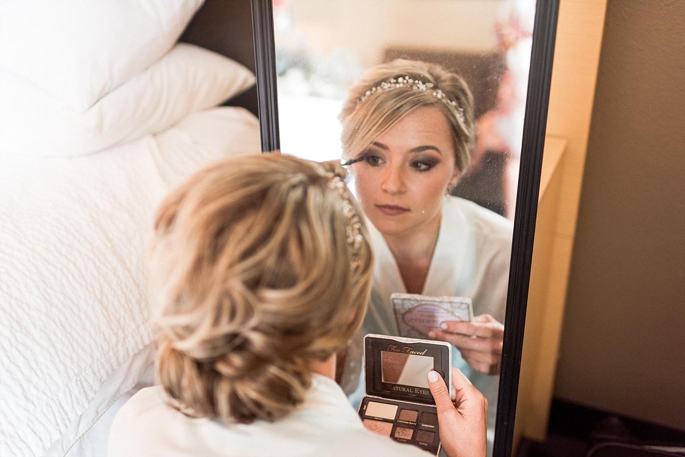 Wedding photography makeup glam bridal