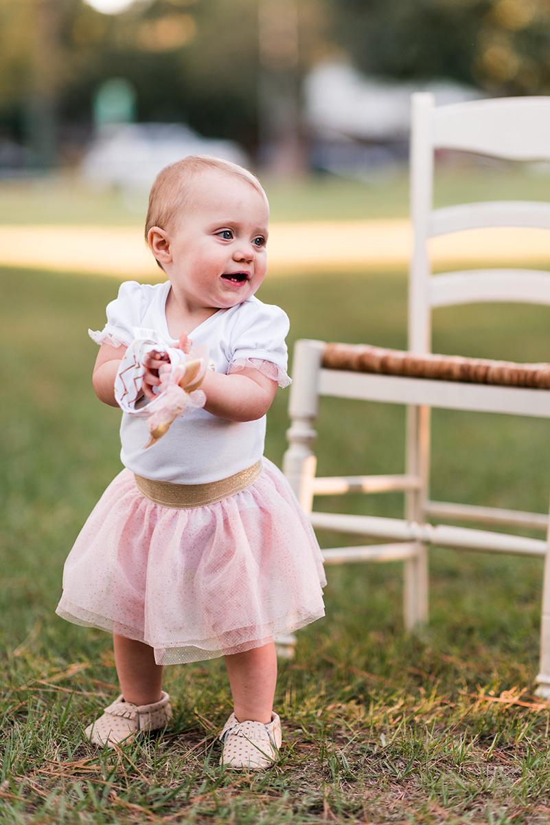 Birthday girl Houston Texas bennett brown photography baby girl