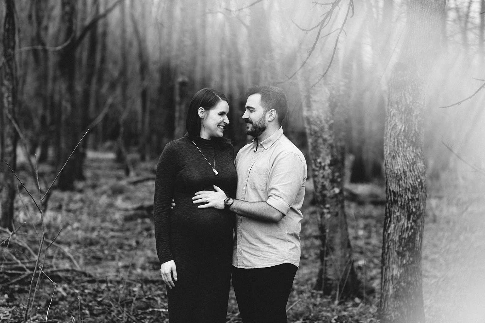 Bennett Brown Photography Maternity session outdoor Houston Texas Bridge