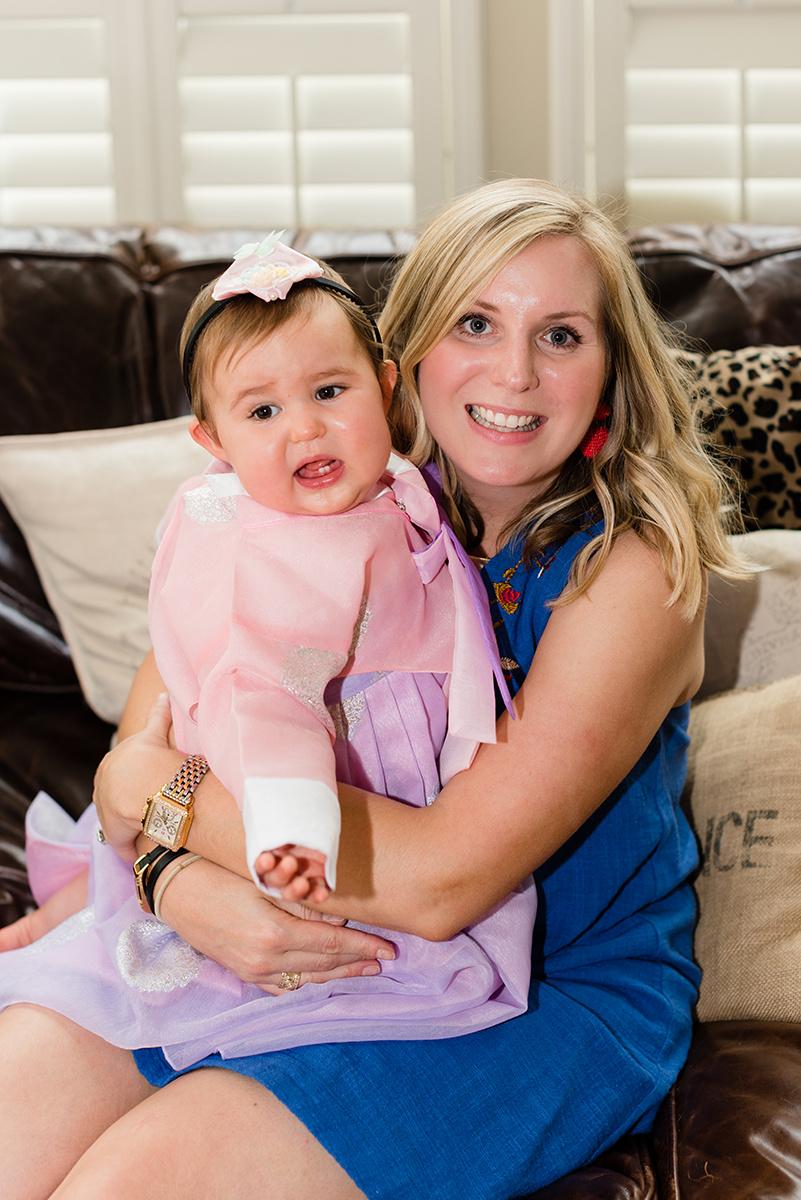 Bennett Brown Photography Family portraits baby girl Houston Texas