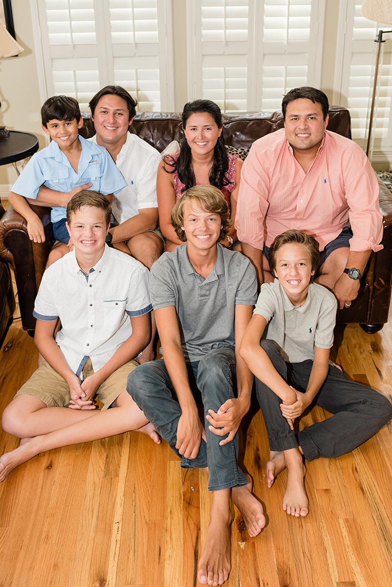 Bennett Brown Photography Family portraits generations Houston Texas