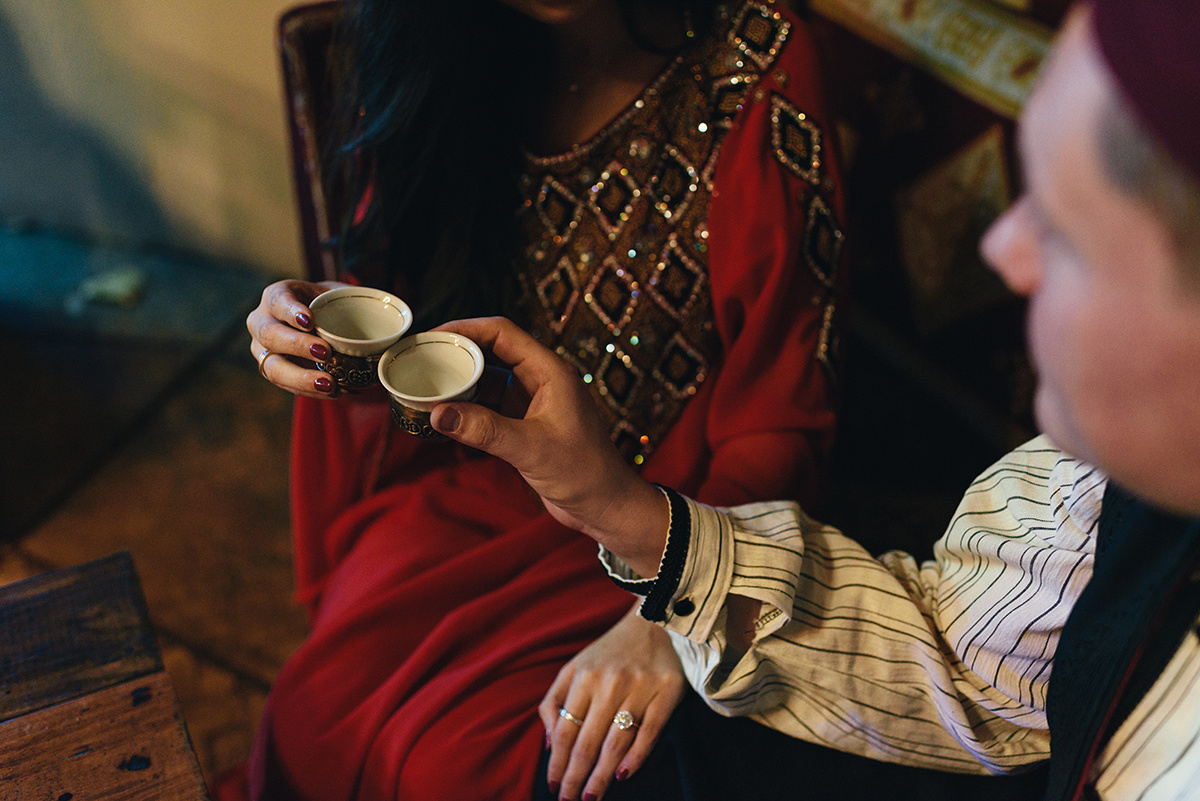 Copper tea  Portrait Photography Traditional beading long hair exotic  Bennett Brown Photography