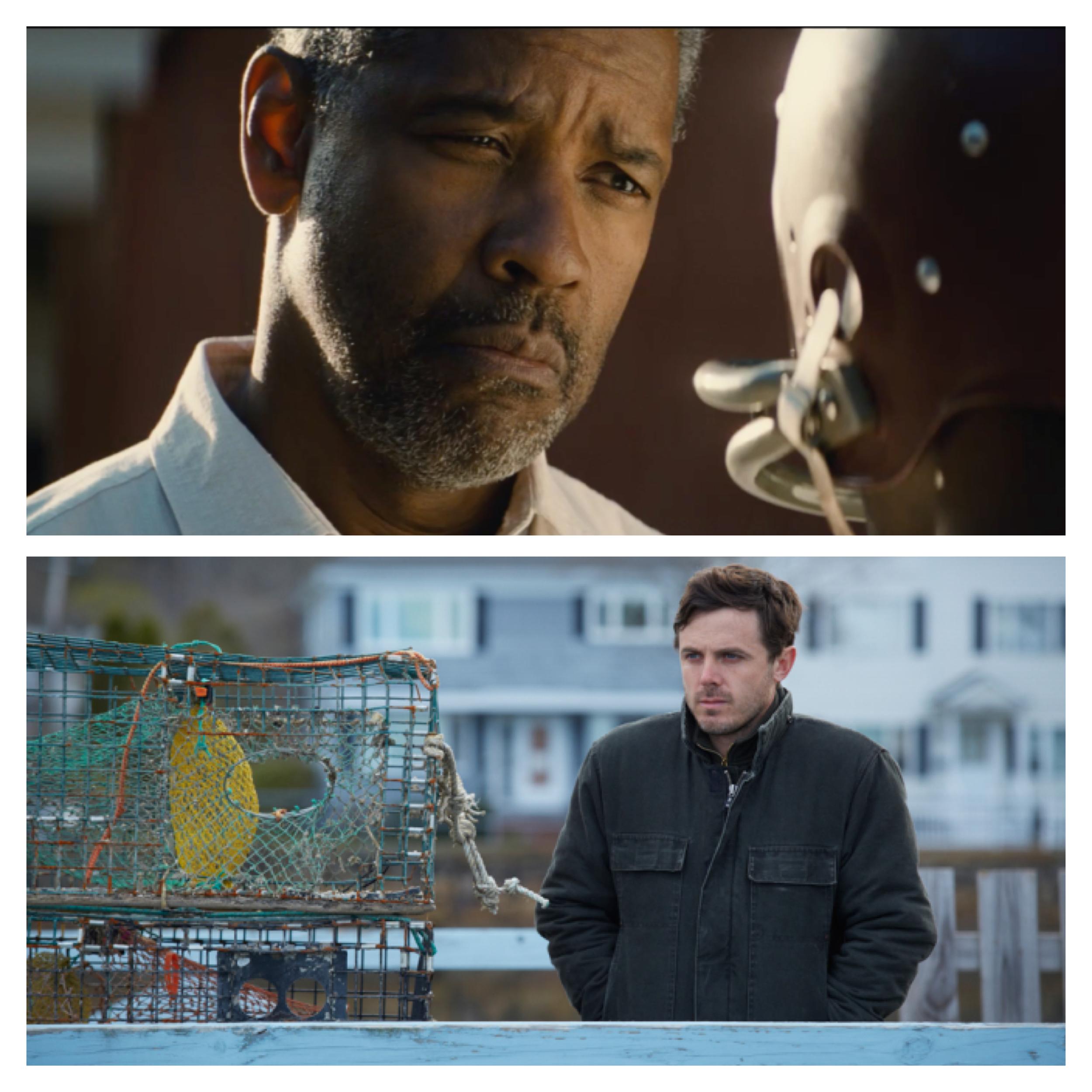 Denzel Washington,  Fences ; Casey Affleck,  Manchester By The Sea