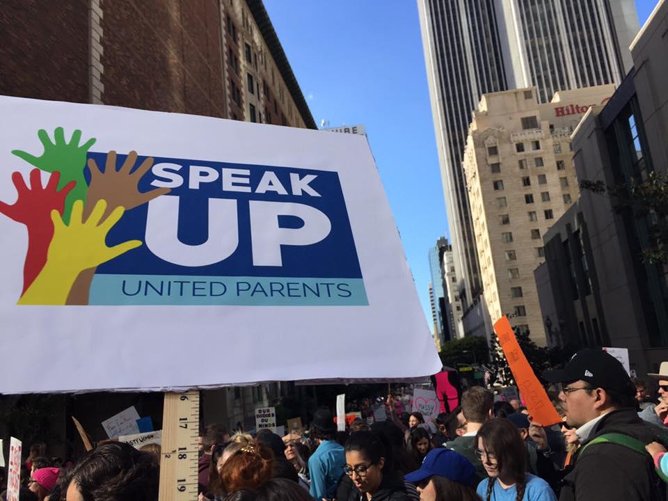 Speak UP Protest sign.jpg