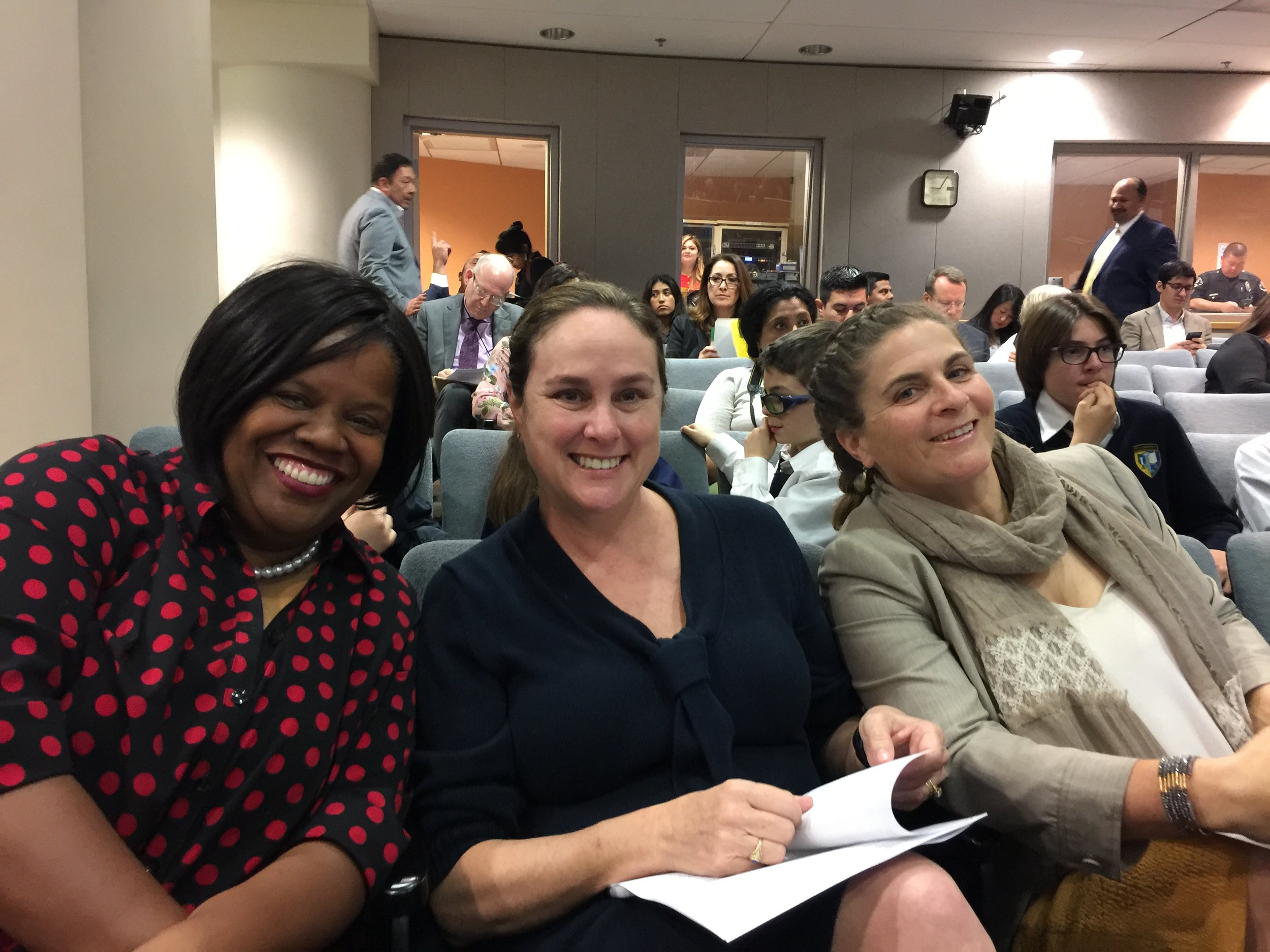 Charter school leaders praised the new spirit of collaboration with LAUSD.