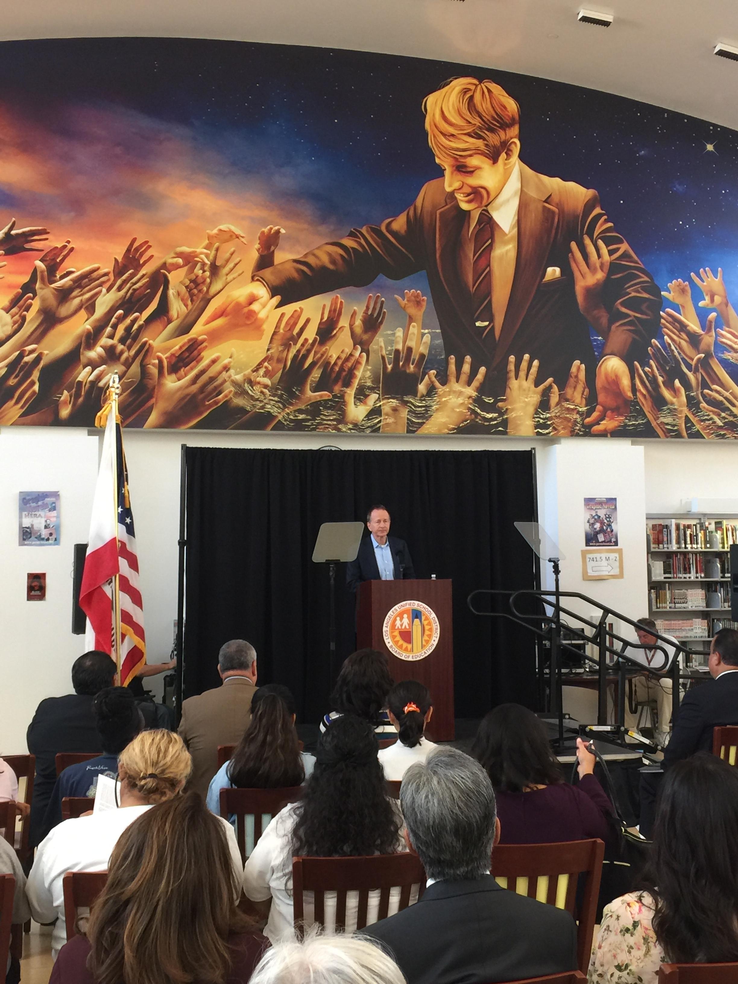 "LAUSD Superintendent Austin Beuter Offers Vision For ""True Progressive"" Education"