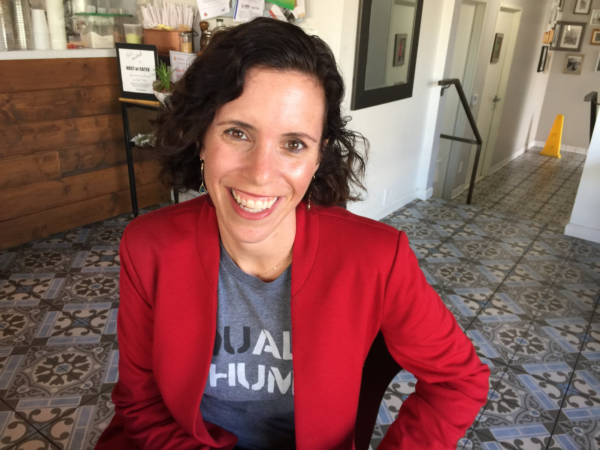 Parent/Educator Allison Bajracharya