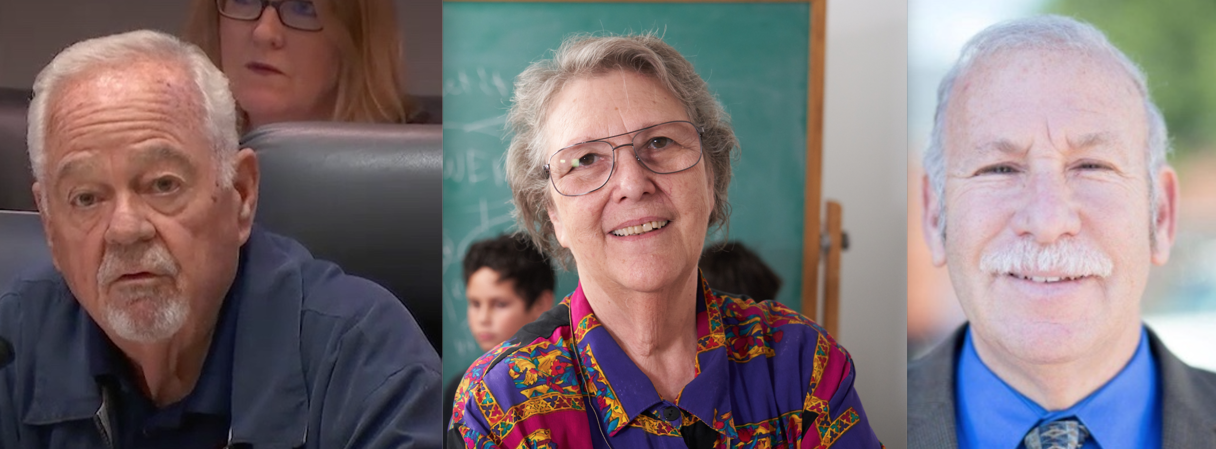 Board President Richard Vladovic (BD7) and Board Members Jackie Goldberg (BD5) and Scott Schmerelson (BD3) threatened to vote to shut down schools that LAUSD had recommended for approval unless they agreed to pay an unexpected bill sent days before the vote.