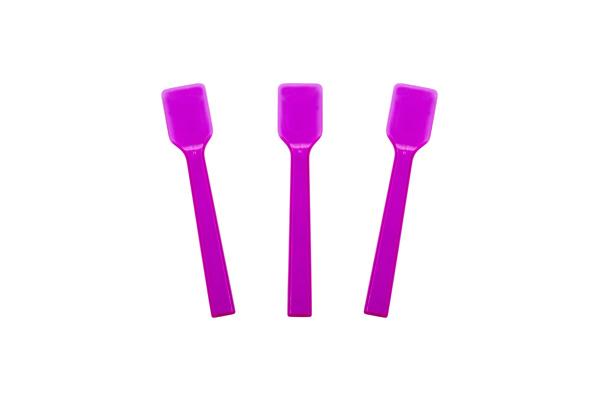 Transparent Neon Purple Gelato Spoon