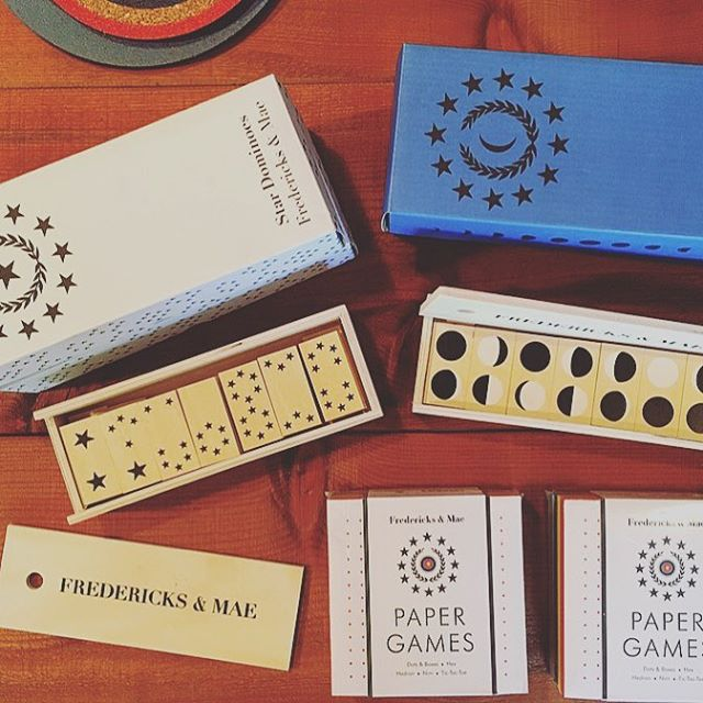 Paper games and dominoes for those long winter nights ✨🌙 . . . . . #ojai #shopsmall #shoplocal #games #dominoes #indoorgames #familyfun #gifts #uniquegifts