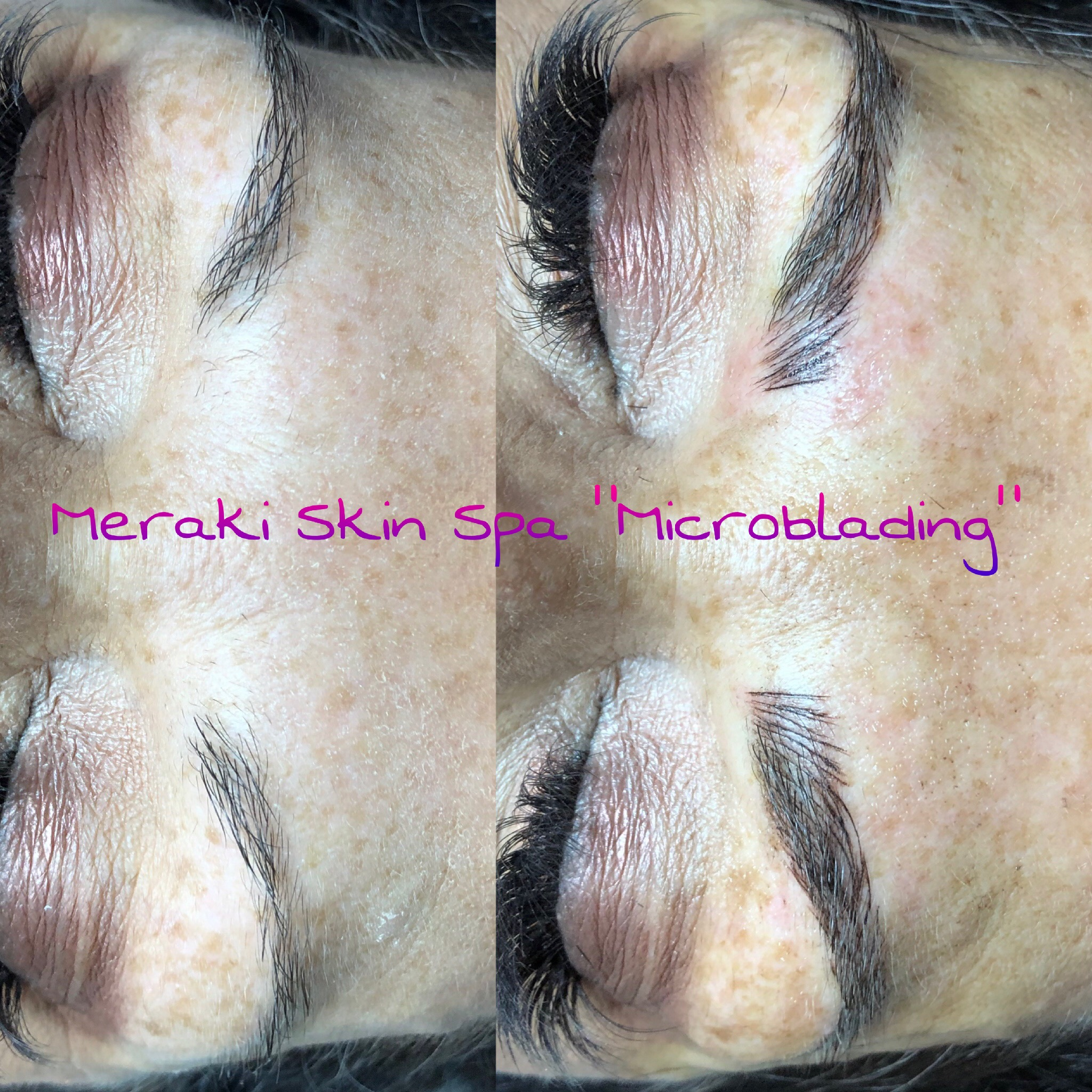 alt text tracy microblading - meridian Idaho - permanent eyebrows
