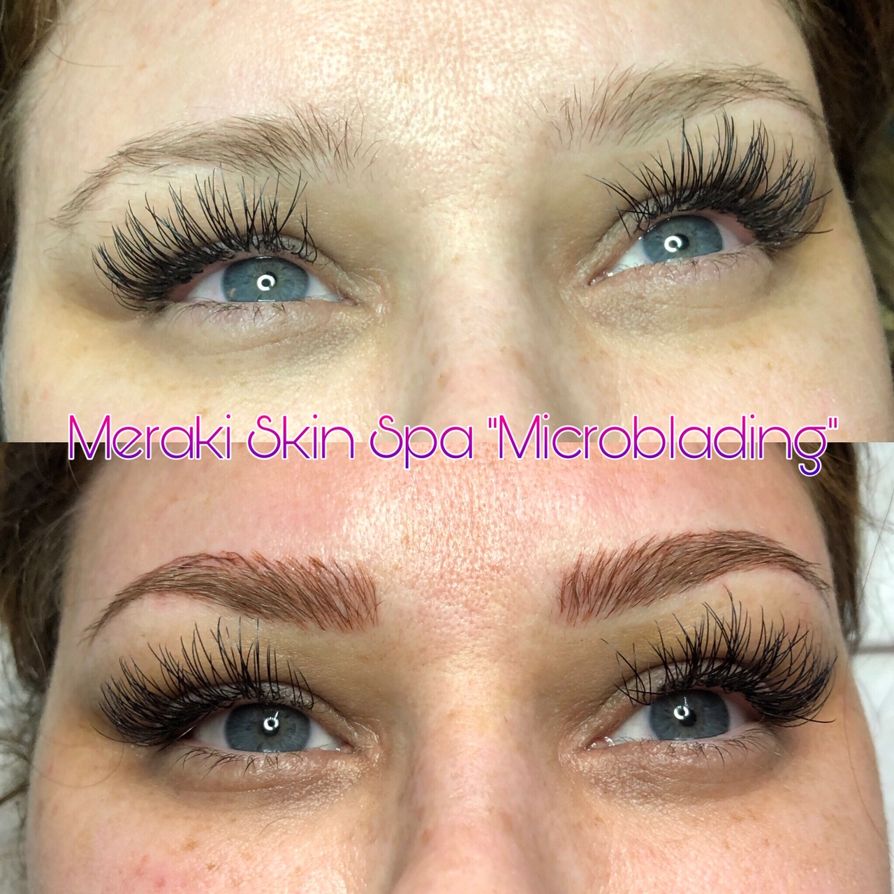 alt text microblading permanent tattooed eyebrows meridian Idaho