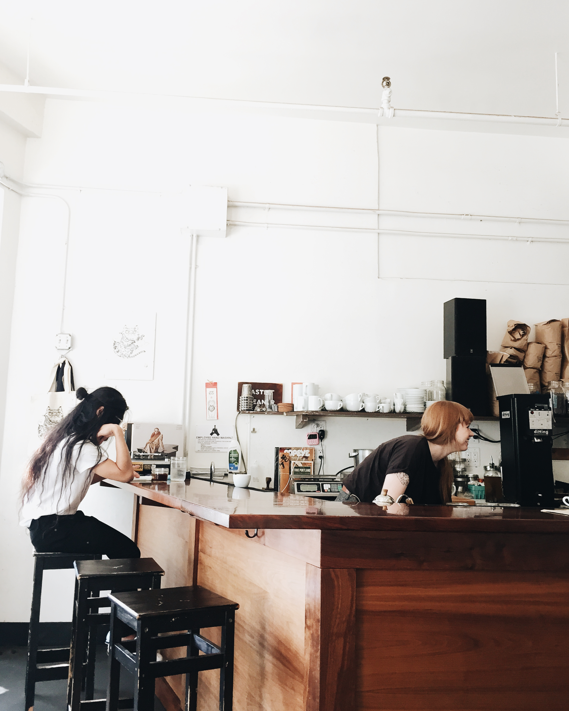 Courier Coffee, Portland