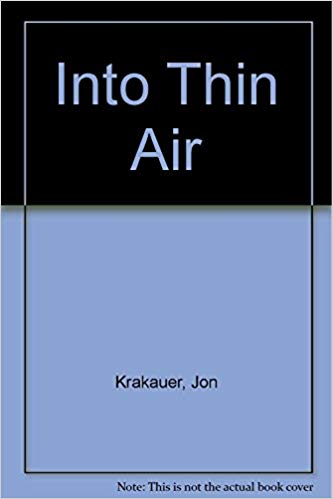 Into Thin Air - Jon Krakauer - Travel Book.jpg