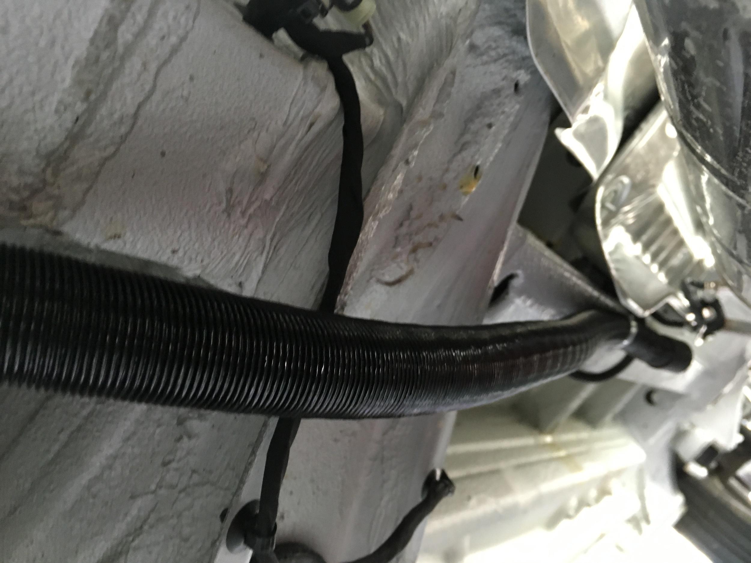 The air intake tube