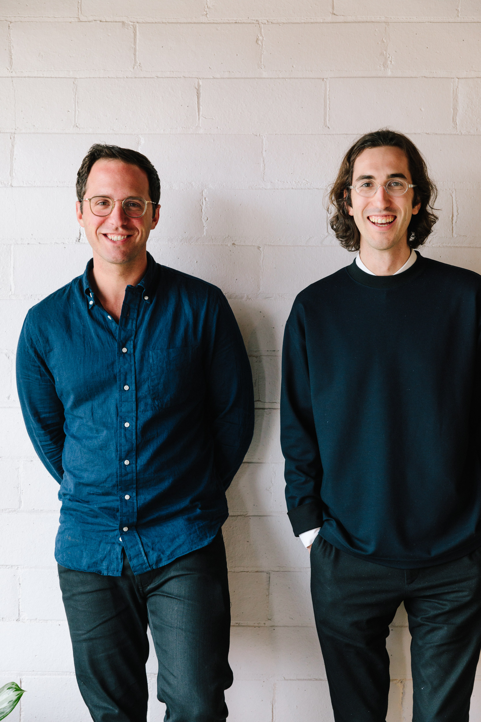 FLOYD: FOUNDERS KYLE HOFF AND ALEX O'DELL AT THE HQ