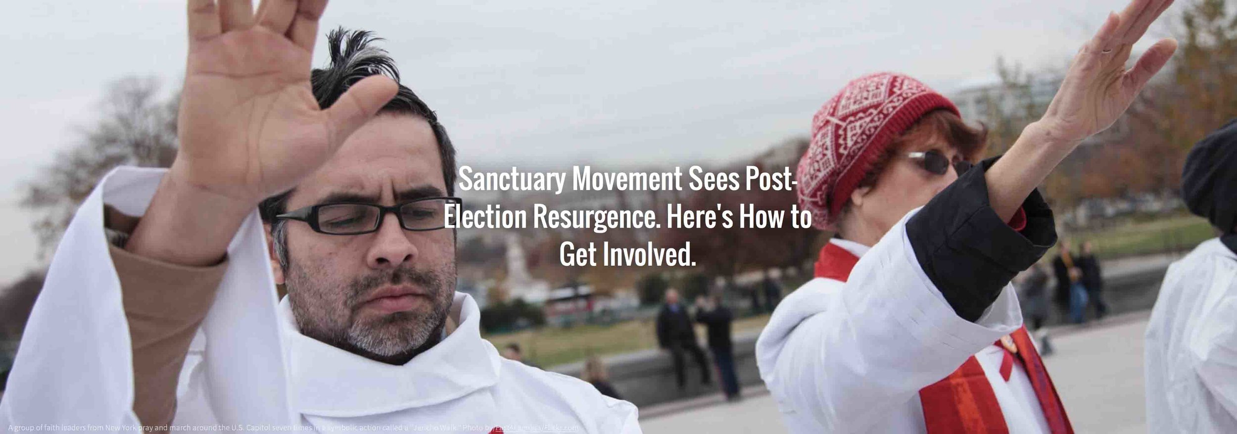 CLICK TO READ AN OVERVIEW OF THE SANCTUARY MOVEMENT BY SENIOR MINISTER REV. DONNA SCHAPER