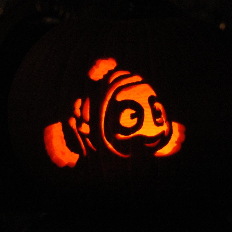 Pumpkin Carving Nemo