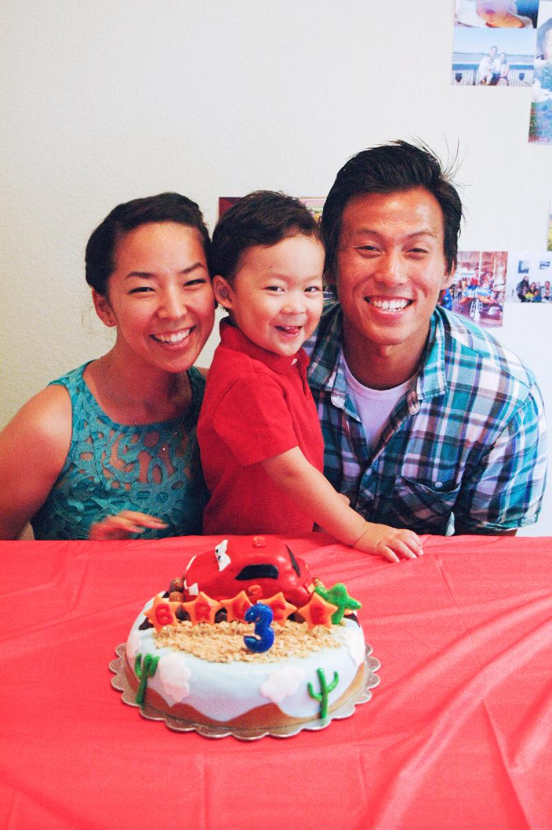Bruce's 3rd Birthday