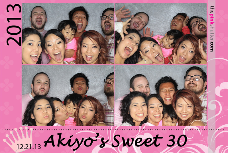 Akiyo's 30th Birthday Photobooth