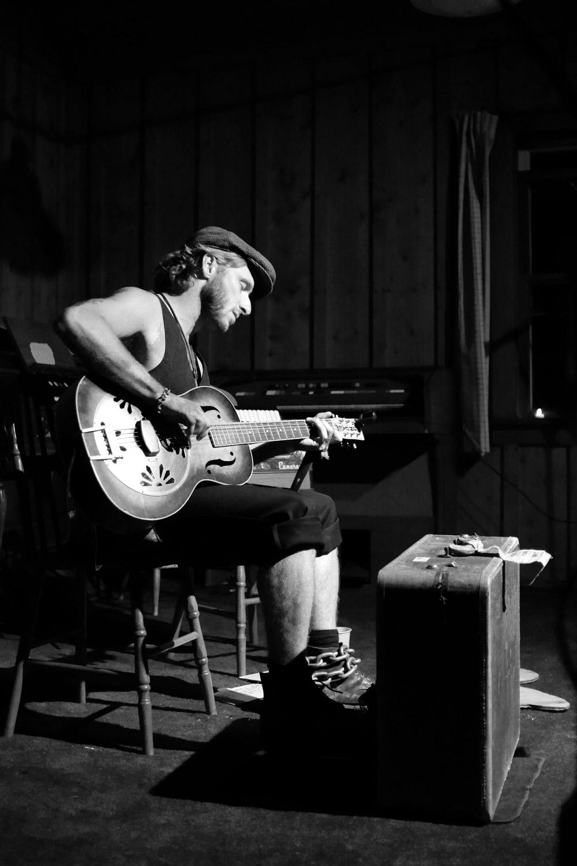 Scott Dunbar at ArtsWells Festival Wells, BC