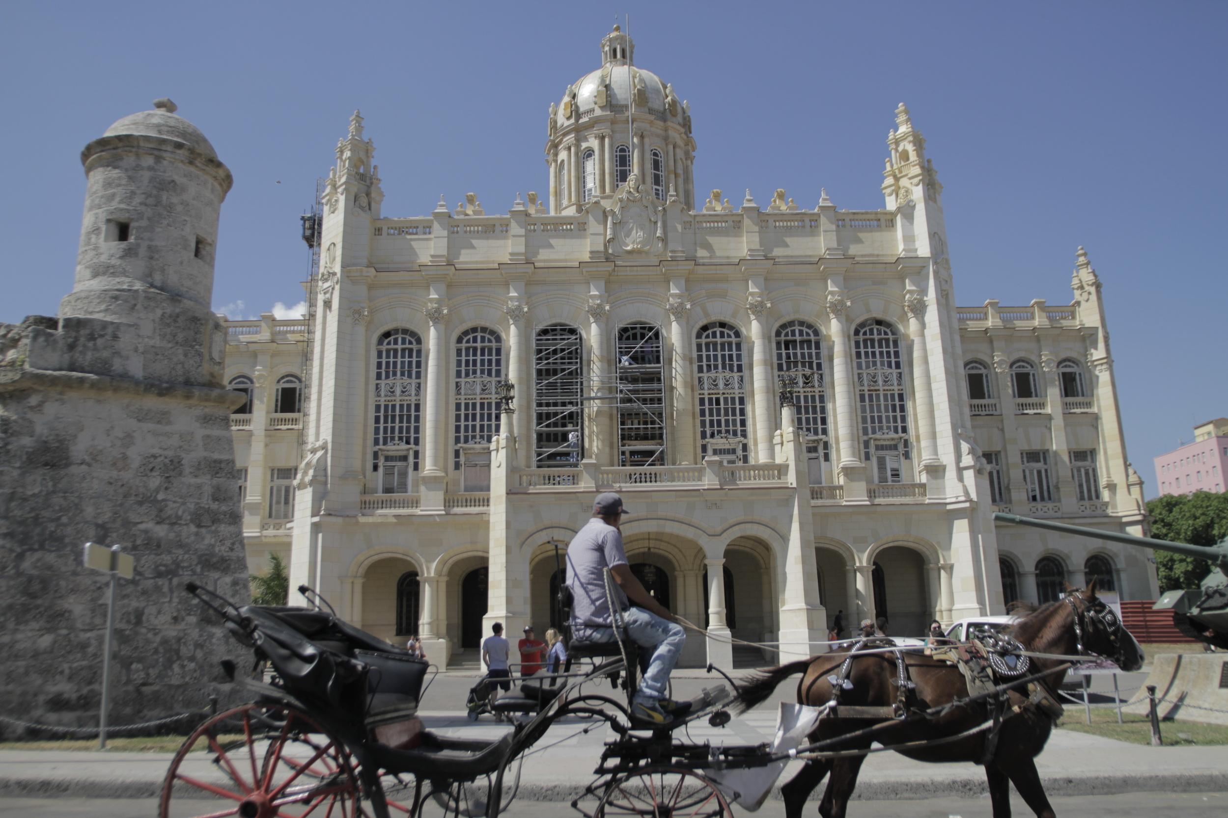Museum of the Revolution in Old Havana