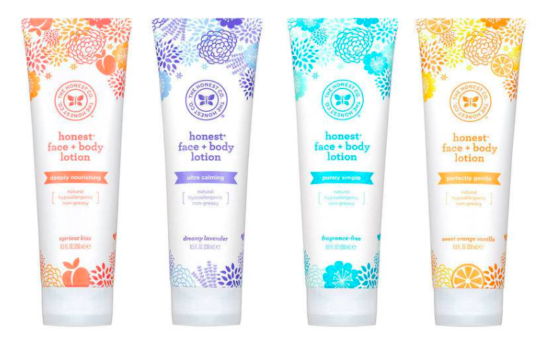Honest Co. Face and Body Lotion