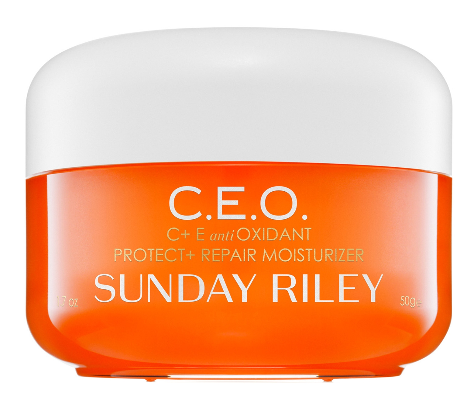 - This Sunday Riley moisturizer is the perfect ally in the fight against sun damage. Use it at nighttime to repair existing damage.Photo courtesy of Sephora.