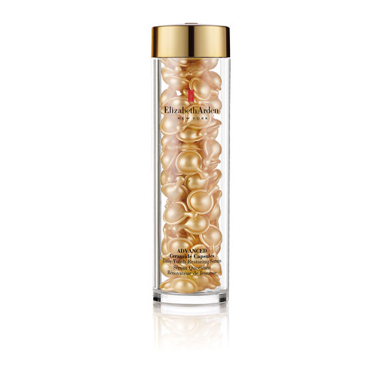 - These capsules tap into Vitamin E as an ingredient to fight aging and repair wrinkles and fine lines. Elizabeth Arden is also the only place I trust with my face/body when I'm in NYC.Photo courtesy of Elizabeth Arden.