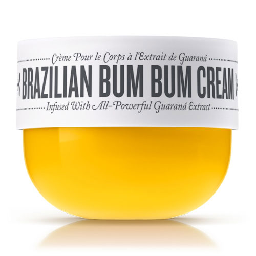 Brazilian Bum Bum Cream - I received this cream as a sampler and have re-upped twice since then. This caffeine complex attacks cellulite to give you that lifted and taut Brazilian Bum (Bum). It also has a slight sheen so you can the photographed looking like a Sports Illustrated model. Don't even talk about the smell (love)!