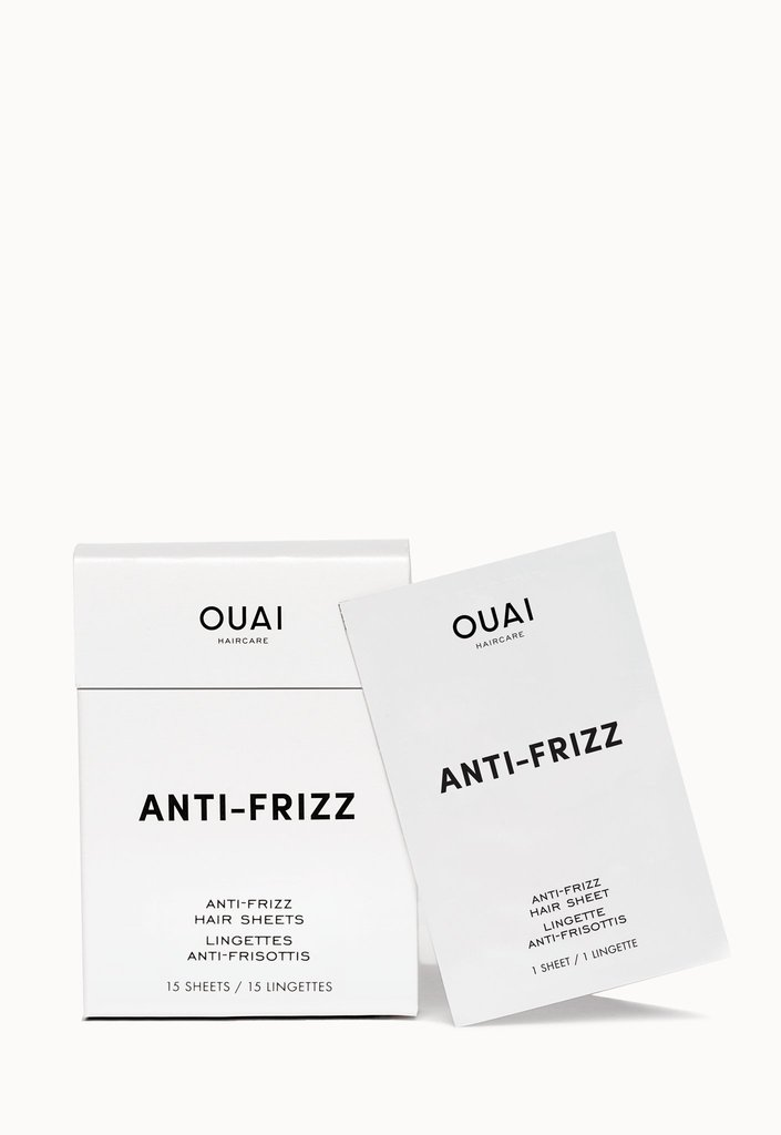 Anti-Frizz Hair Sheets - Jen Atkin and her team are killing it again! Paraben-free. Cruelty-free. Natural ingredients and beautiful smells. Plus, can you handle this packaging? I can't. Love this brand and love this product. Now I don't have to keep rubbing Bounce dryer sheets on my scalp.