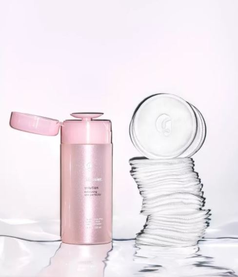 You can get the Glossier cotton pads but I stock up from  Koh Gen Do .