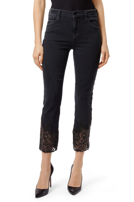 Ruby High-Rise Cropped Cigarette -