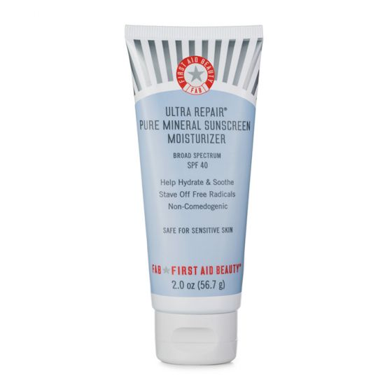 First Aid Beauty Ultra Repair® Pure Mineral Sunscreen Moisturizer Broad Spectrum SPF 40