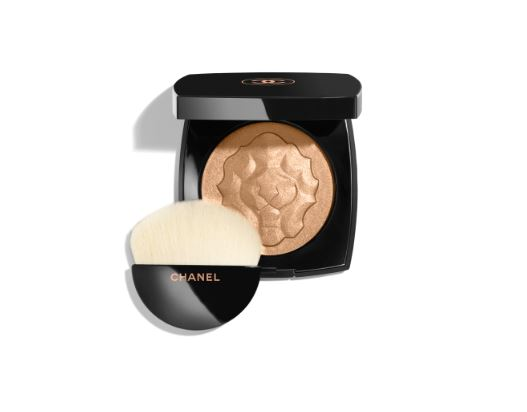 Le Lion - Ah…the highlighter of all highlighters. With a carved lion to represent Madame Chanel's zodiac, this illuminator bumps up the healthy glow without making you look like an oil slick.