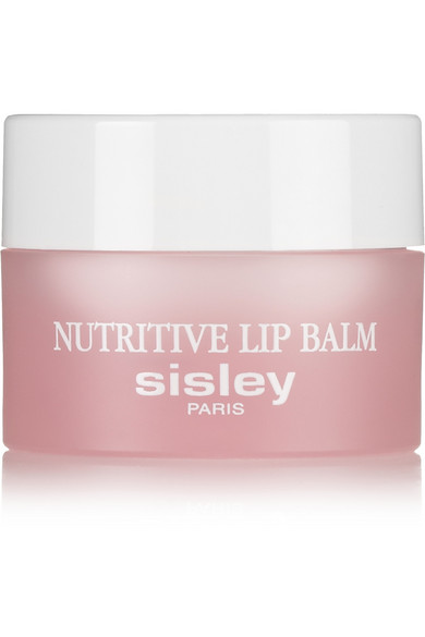 Lippy Marmalade - We have yet to meet a Sisley product we don't like. This goes double for the brand's Nutritive Lip Balm.While some balms have the common ingredients of sunflower oil and shea butter (which this formula also boasts), the folks at Sisley have upped the balm game by adding hazelnut and plum kernel oils.The result is a thick rescue balm that melts into a perfect lip oil. Use it overnight to heal your pout or pop it on before you do your makeup to prep your lips for some color.