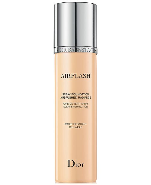 The Heavy Hitter - Airbrush makeup has long been the BFF of makeup artists everywhere. Who wouldn't want to have perfect skin from head to toe that lasts until you choose to remove it?Dior has harnessed the power of airbrush and put it in the hands of the average makeup user with Airflash Spray Foundation. You don't need a bulky machine or motor to apply this formula. Just spritz it and use a brush for extra blending onto the skin. Mother of pearl extracts give the skin a gorgeous glow without making oily skin look like a pizza napkin.