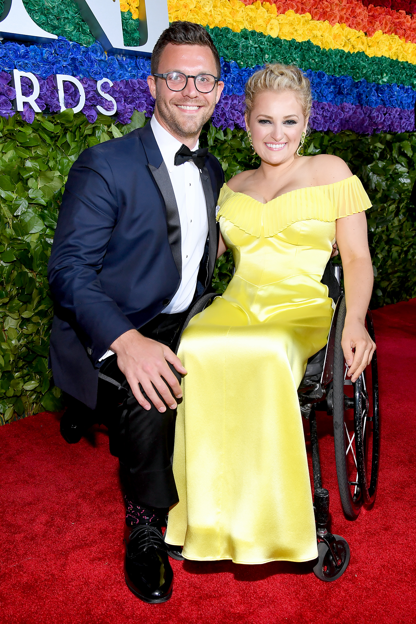 Ali is the first wheelchair using actor to be nominated and WIN the Tony Award. Her  speech was inspirational .