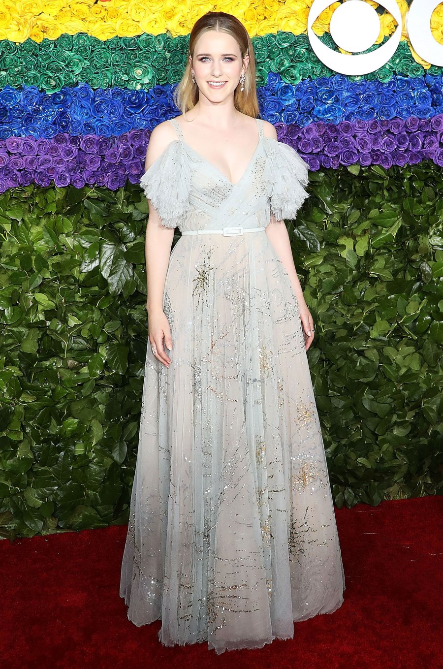The Marvelous Miss Brosnahan looked more like a good witch with this dress and her new blonde locks.