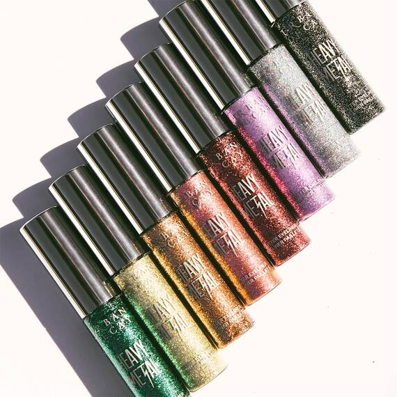 Urban Decay - The brand created a whole range of products and tutorials for a full Pride look titled Sparkle Out Loud.The darling of the line is the Heavy Metal Glitter Eyeliner in Stonewall ($21). Sound familiar? That's because it's an ode commemorating the Stonewall Riots as a turning point in LGBT rights in the US and 25% of the purchase price goes to the Stonewall Community Foundation.